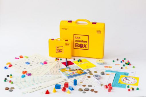 Five minute number box